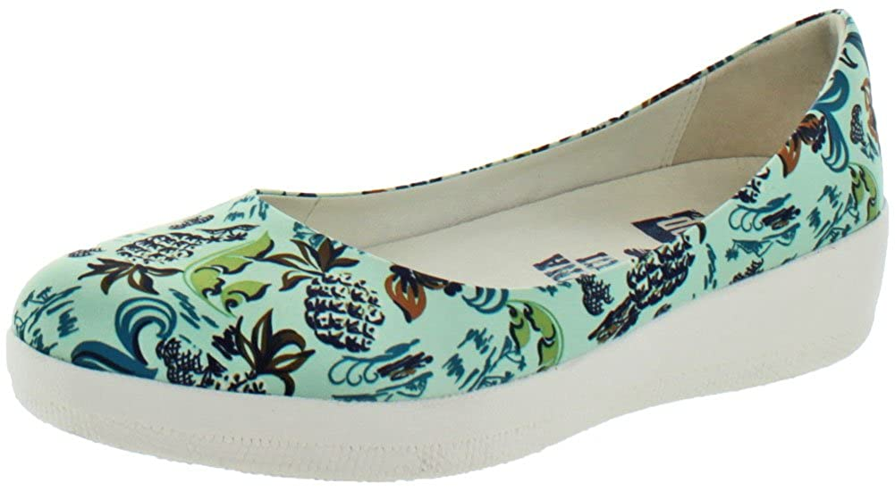 Fitflop Anna Sui Printed Ballerina Womens Shoes Multi B01MDM17LZ Parent