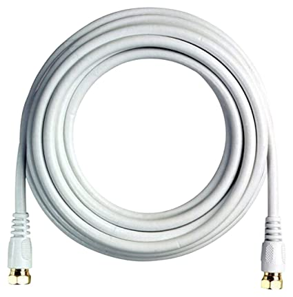 BoostWaves BW35W 35 High Definition HDTV White Coaxial Cable, Low Loss