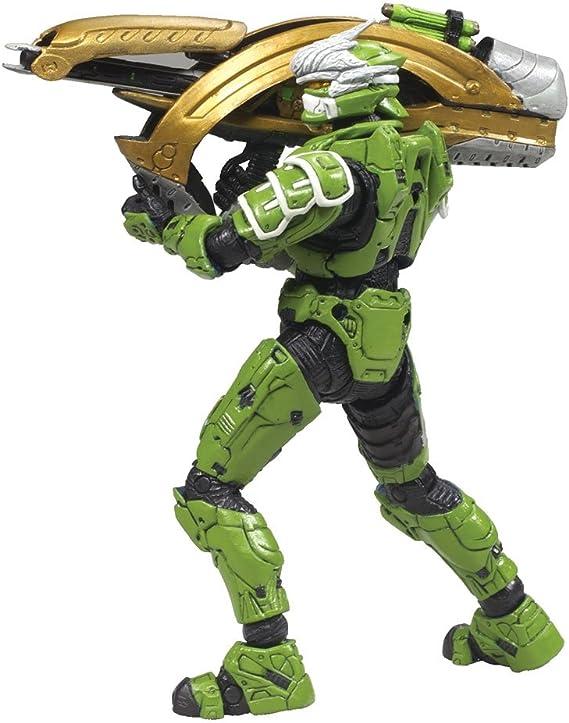 McFarlane Halo 3 Series 4 PINK Hayabusa Spartan Soldier D/&R Lineups Exclusive
