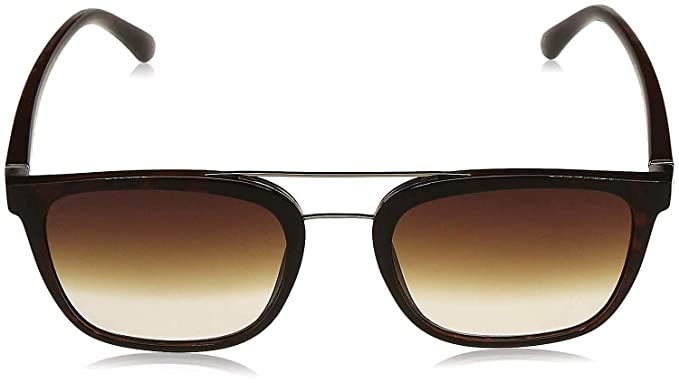 3517-TRANS 58 Black Kodoos UV Protected Square Sunglasses for Men Women