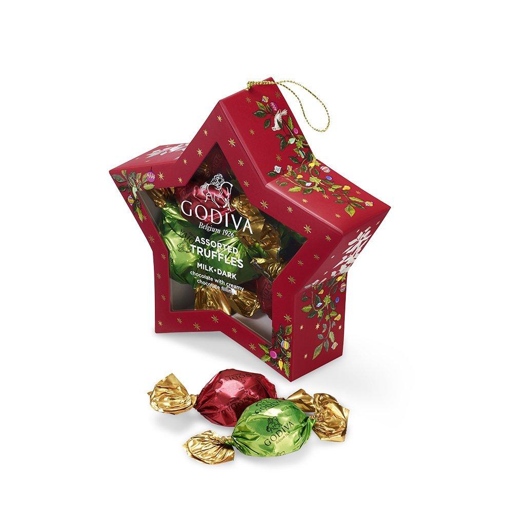 Amazon.com : Godiva Chocolatier Christmas Santa Gift Box