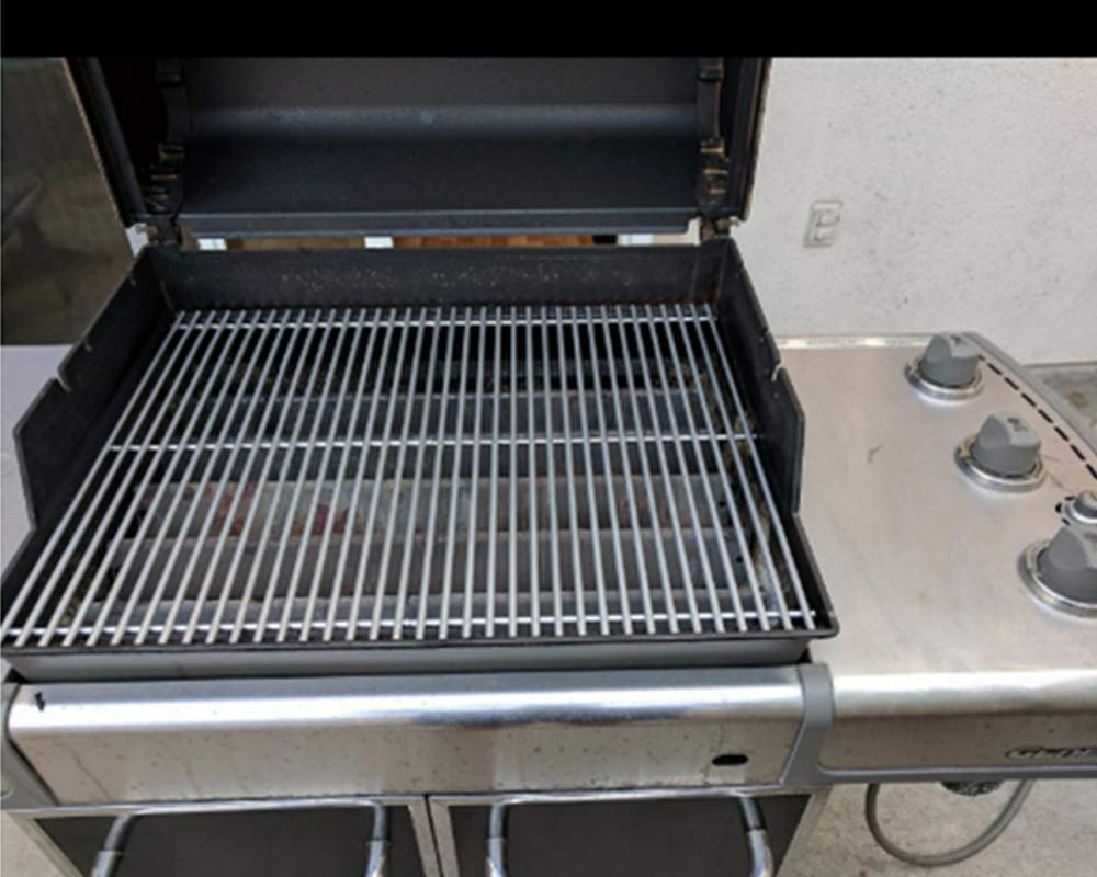 """304 Stainless Steel Cooking Grid Grates 19.5/"""" 2pcs for Weber Genesis E310 E320"""
