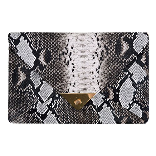 Buddy Women Fashion Shoulder Bag Envelope Clutch Evening Handbag Chain Purse