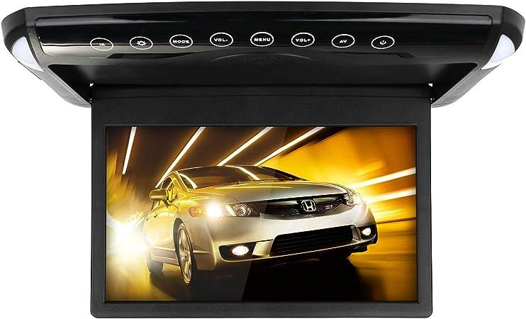 Micarba Autodachmonitor 1080p Hd Ultradünner 10 1 Zoll Ips Bildschirm Flip Down Multimedia Monitor Mit Hdmi Fm Sd Usb Mp3 Mp4 1008bl Auto