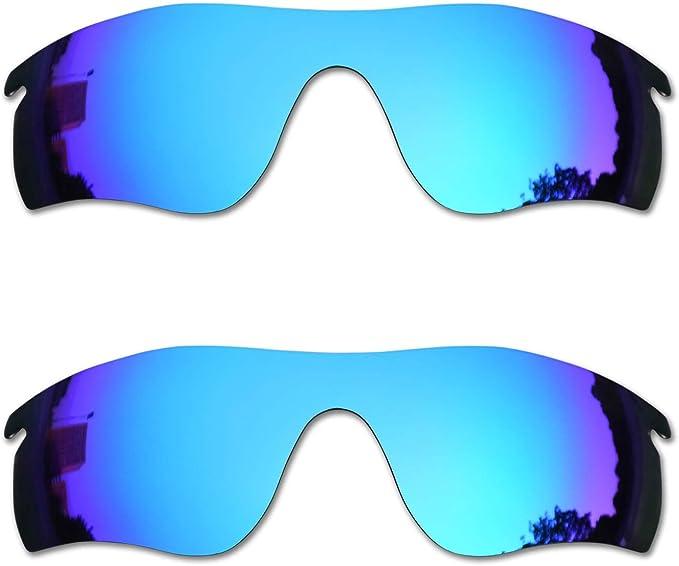 SOODASE Para Oakley Radarlock Path Gafas de sol Azul 2 Pares ...