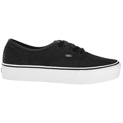 c7a0b1c66929da Vans Unisex Authentic Platform Suede Black Trainers 5.5 W   4 M US