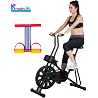 Body Gym Exercise Cycle 201 for Weight Loss at Home | Bonus Tummy Trimmer for Stomach Exercise | Fitness Bike with Abdominal Exerciser | by KS Healthcare