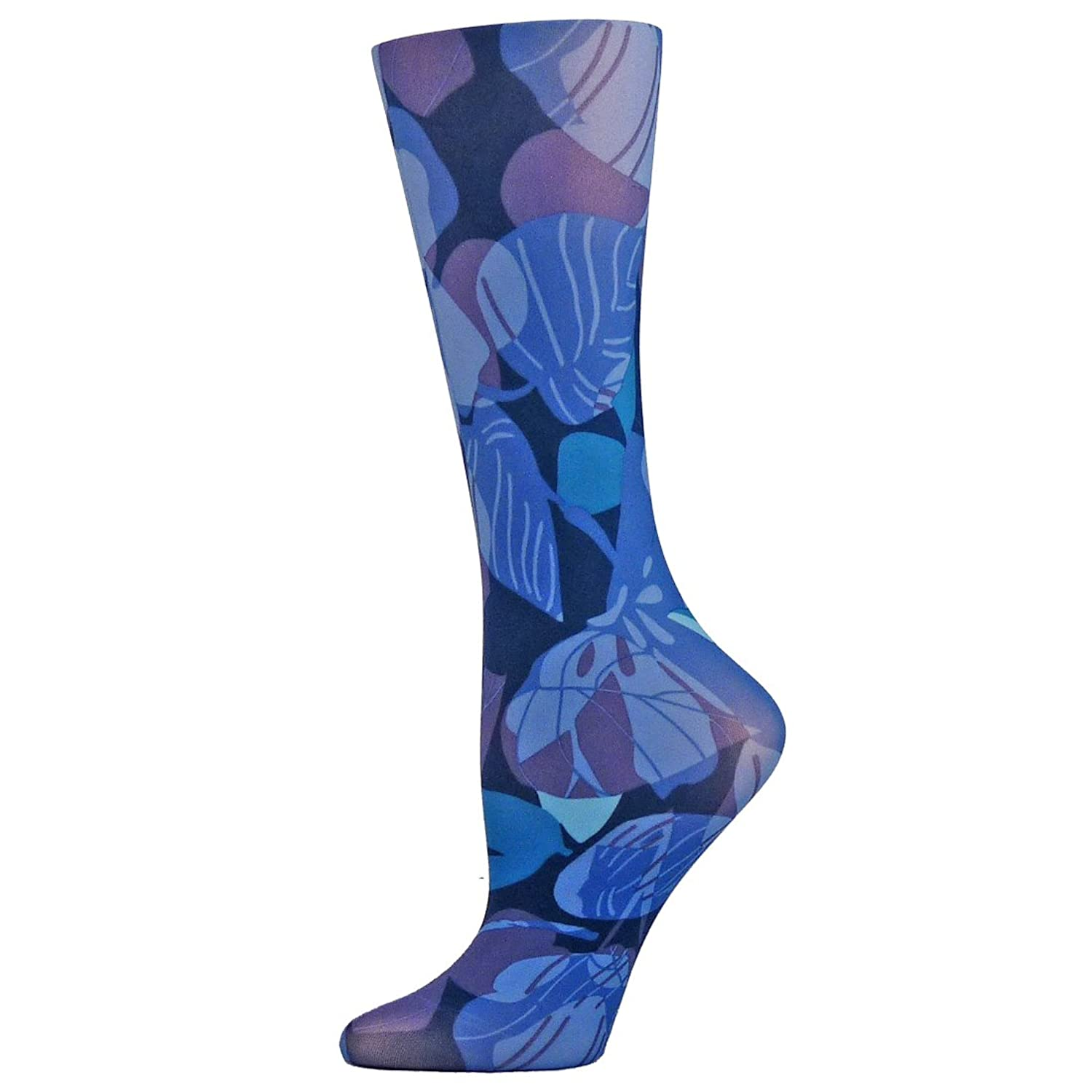nouvella Sublimation Trouser Womens Socks - Floral Collection