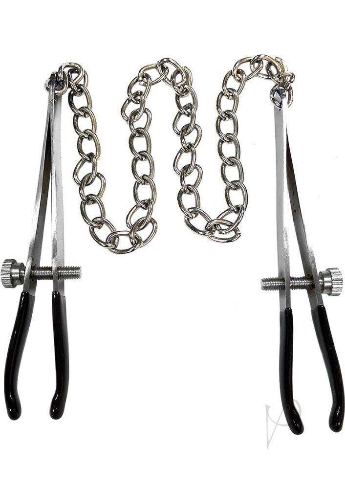Rouge Tweeze Nipple Chain Clamps