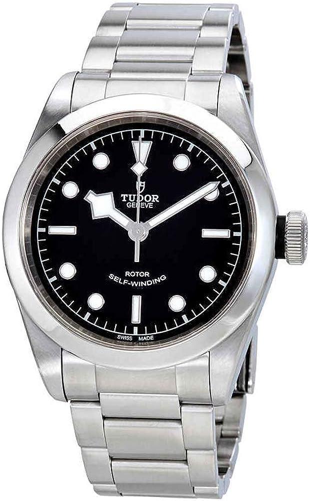 Tudor Heritage Black Bay 79540-0001 - Reloj automático de acero para hombre (41 mm)