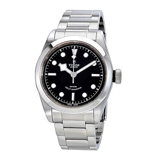 Tudor 79540-0001 Heritage Black Bay - Reloj automático de acero para hombre, 41 mm: Amazon.es: Relojes