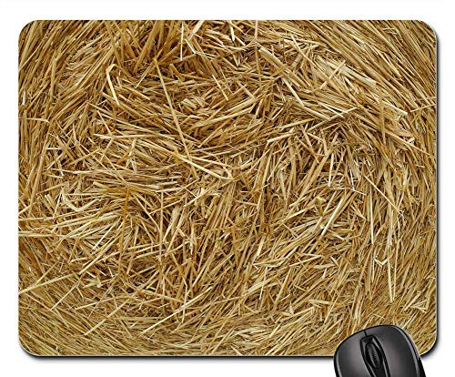 Mouse Pads - Straw Agriculture Grain Crop Field Countryside ()