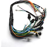 amazon com honda cb750 wire harness honda cb750k 1969 71 oem yunshuo gy6 150cc wire harness wiring assembly scooter moped for 11 pole magneto chinese