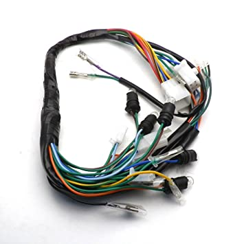 YunShuo GY6 150CC Wire Harness Wiring embly Scooter Moped for 11 Pole on