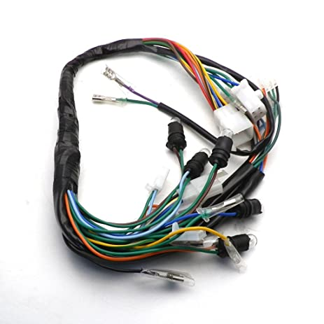 amazon com yunshuo gy6 150cc wire harness wiring assembly scooter rh amazon com