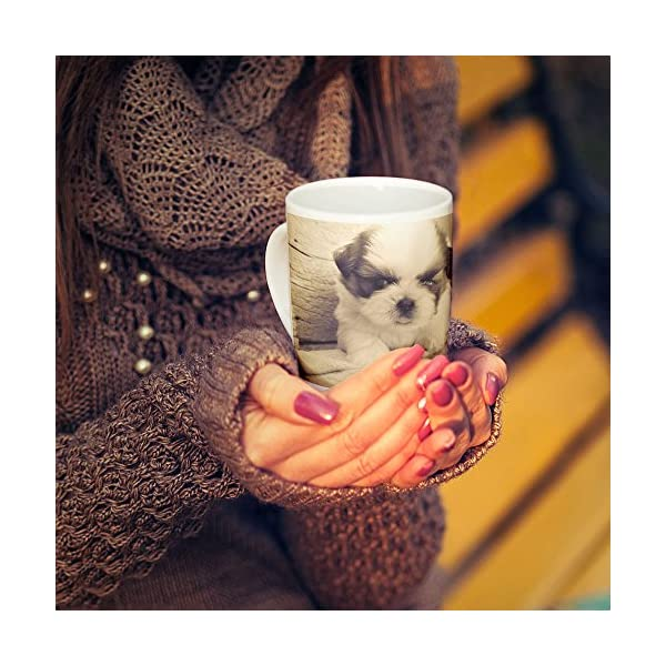 Westlake Art - Dog Like - 15oz Coffee Cup Mug - Modern Picture Photography Artwork Home Office Birthday Gift - 15 Ounce 3