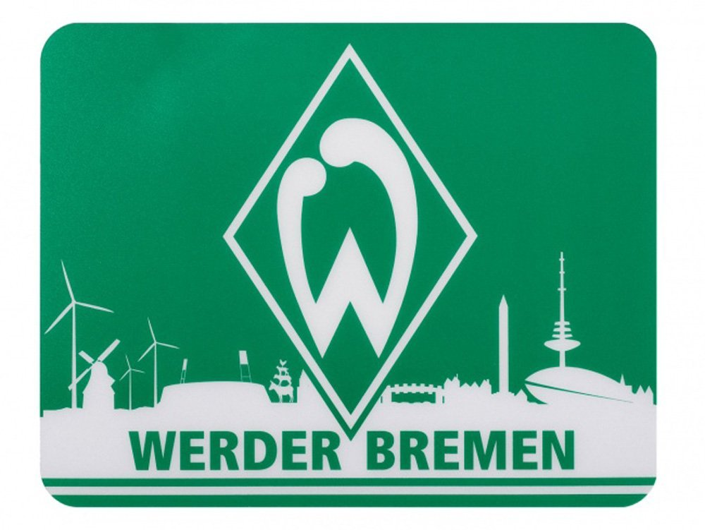 Sv Super Slim Mouse Mat Fan Edition Werder Bremen Skyline Amazon Co Uk Sports Outdoors