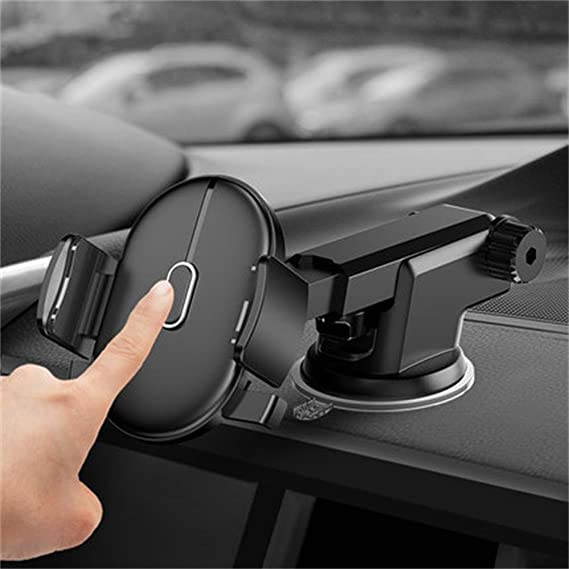 Image result for Automatically Locking Windshield Phone Holder
