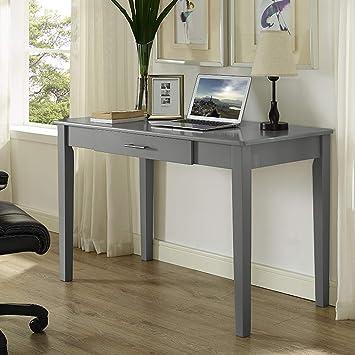 Amazon.com: We Muebles Retro Madera computadora para ...