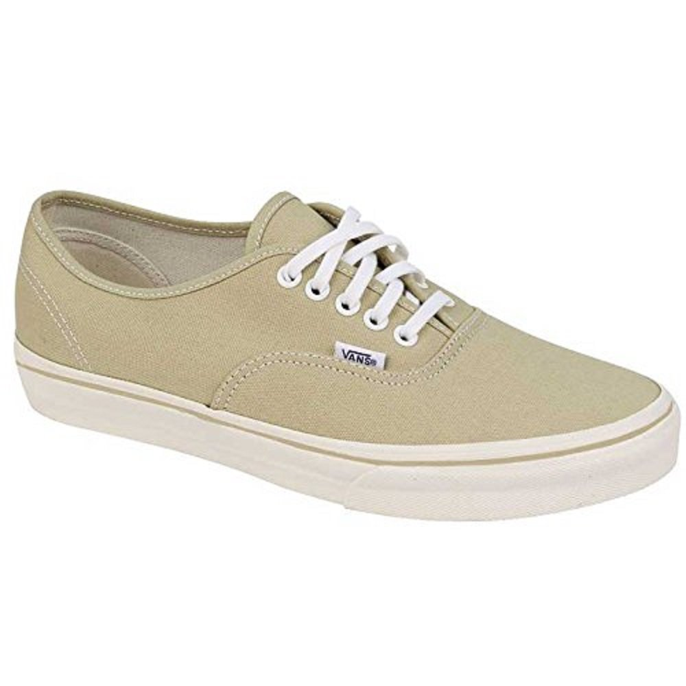 Vans Authentic 6 B M US Women 4.5 D M US Men Pale Khaki True White