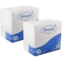 Shrayati Bring Best Soft Tissue Paper Napkins l 2 Ply l Pack of 2