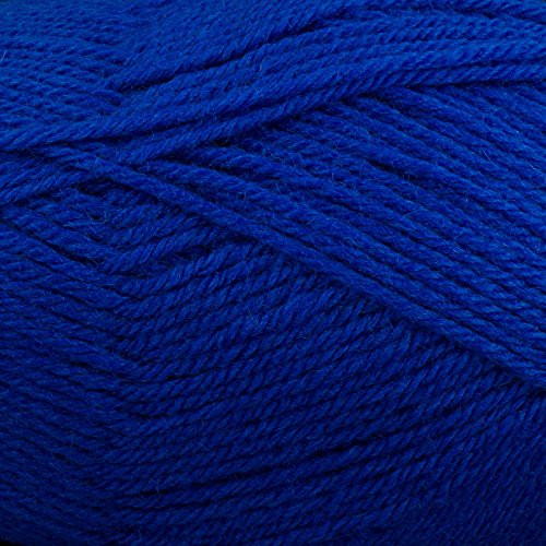 Plymouth Galway 100% Wool (Plymouth (1-Pack) Galway Worsted Yarn Royal Blue 0011-1P)