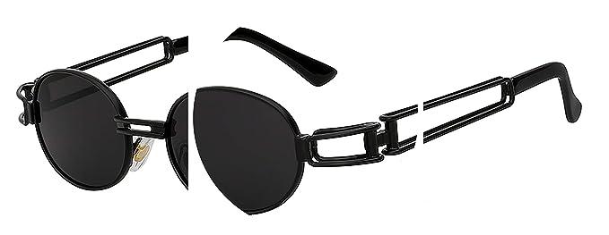 BA Sunglasses Gafas de sol estilo steampunk para hombre y ...