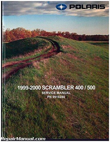 9916280 1999-2000 Polaris Scrambler 400 500 ATV Service Repair Manual