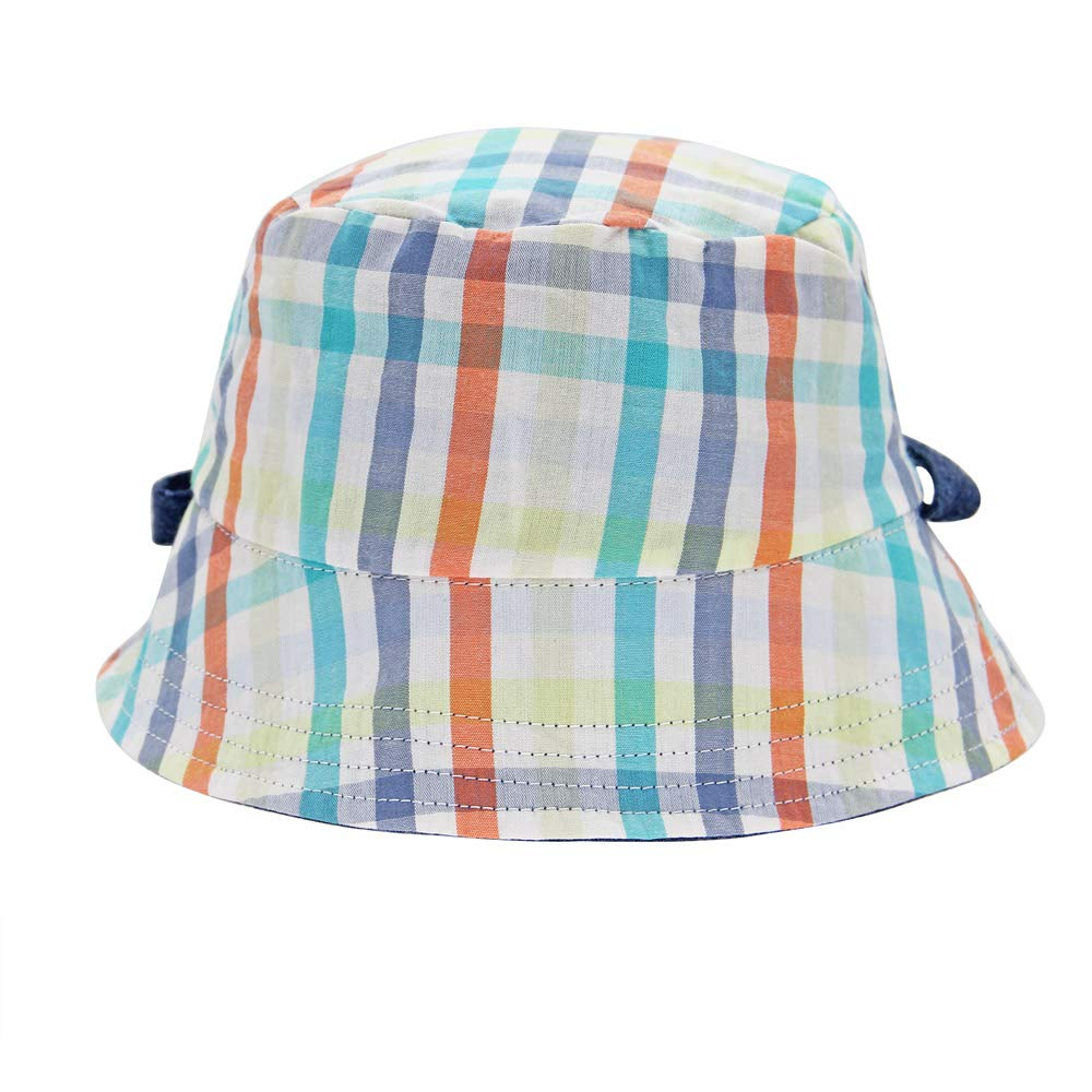 jerague Kids Toddler Baby Summer Bucket Sun Hat Breathable Adjustable Fisherman Hats