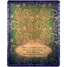 Manual Memorial 50 x 60-Inch Tapestry Throw, When Someone You Love