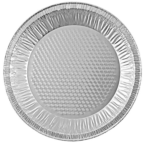 Handi-Foil 10'' (Actual Top-Out 9-5/8 Inches - Top-In 8-3/4 Inches) Aluminum Foil Pie Pan - Disposable Baking Tin Plates (50) by HFA (Image #2)