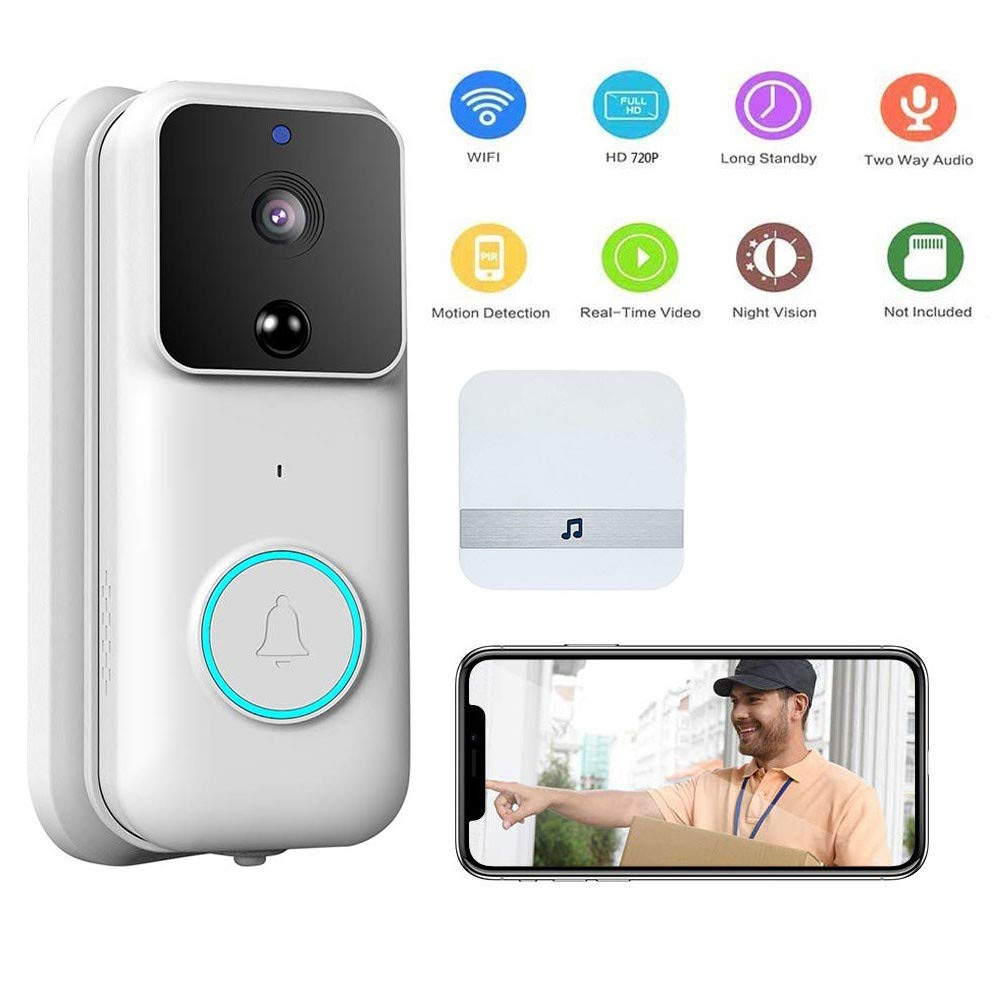 Ring Video doorbell Timbre con Camara WiFi Timbre de Video Tarjeta ...
