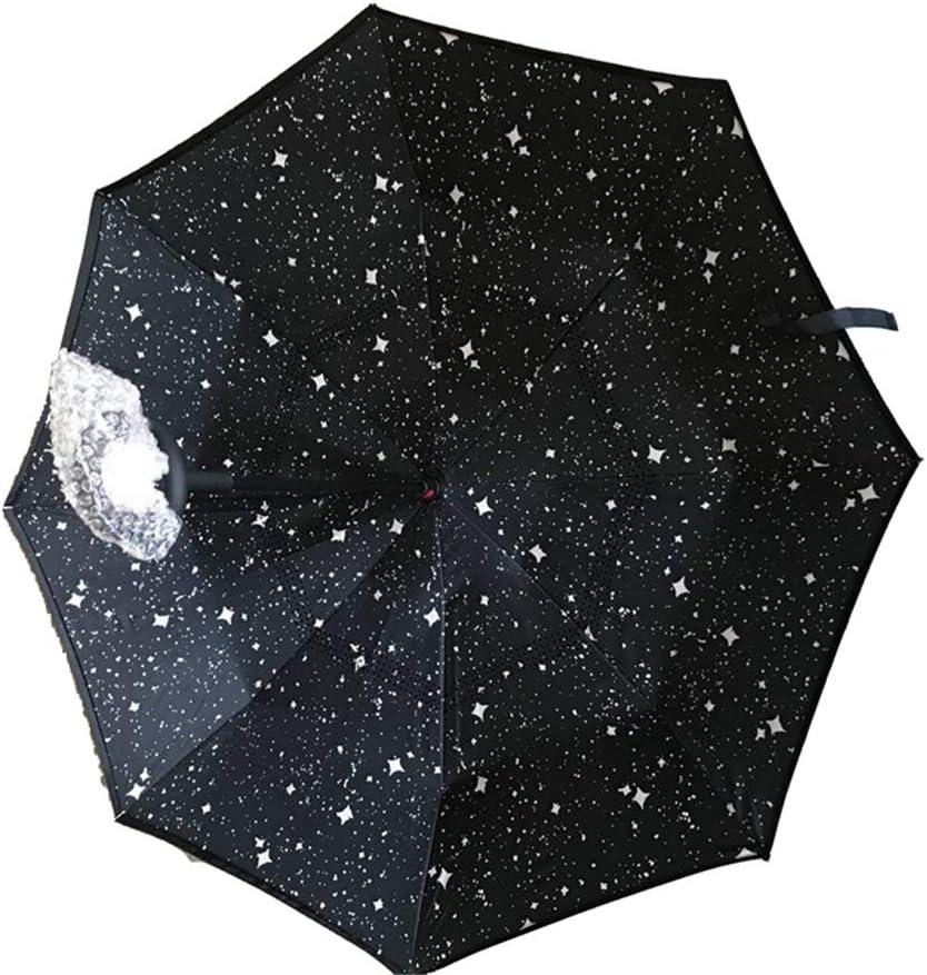 Paraguas Compacto, Paraguas Plegable a Prueba de Viento automático ...