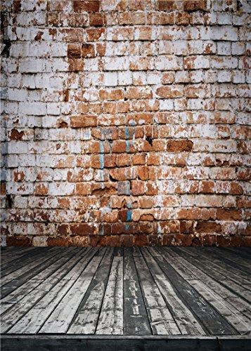 Qian Vintage Brick Wall Photography Background Vinyl Photo Backdrops Studio Props 5x7ft qx069 (Vintage Video Camera)