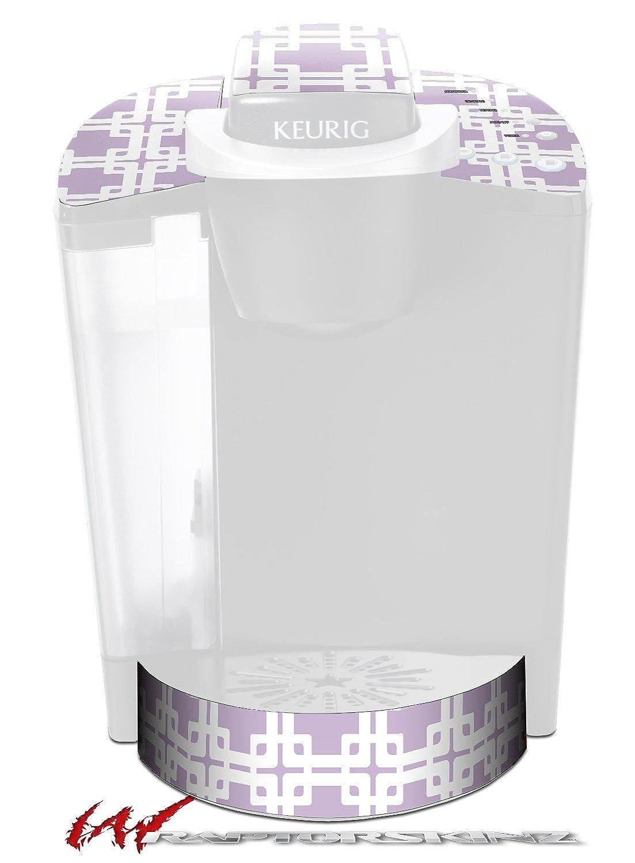 Boxedラベンダー – デカールスタイルビニールスキンFits Keurig k40 Eliteコーヒーメーカー( Keurig Not Included )   B017AKEHKQ