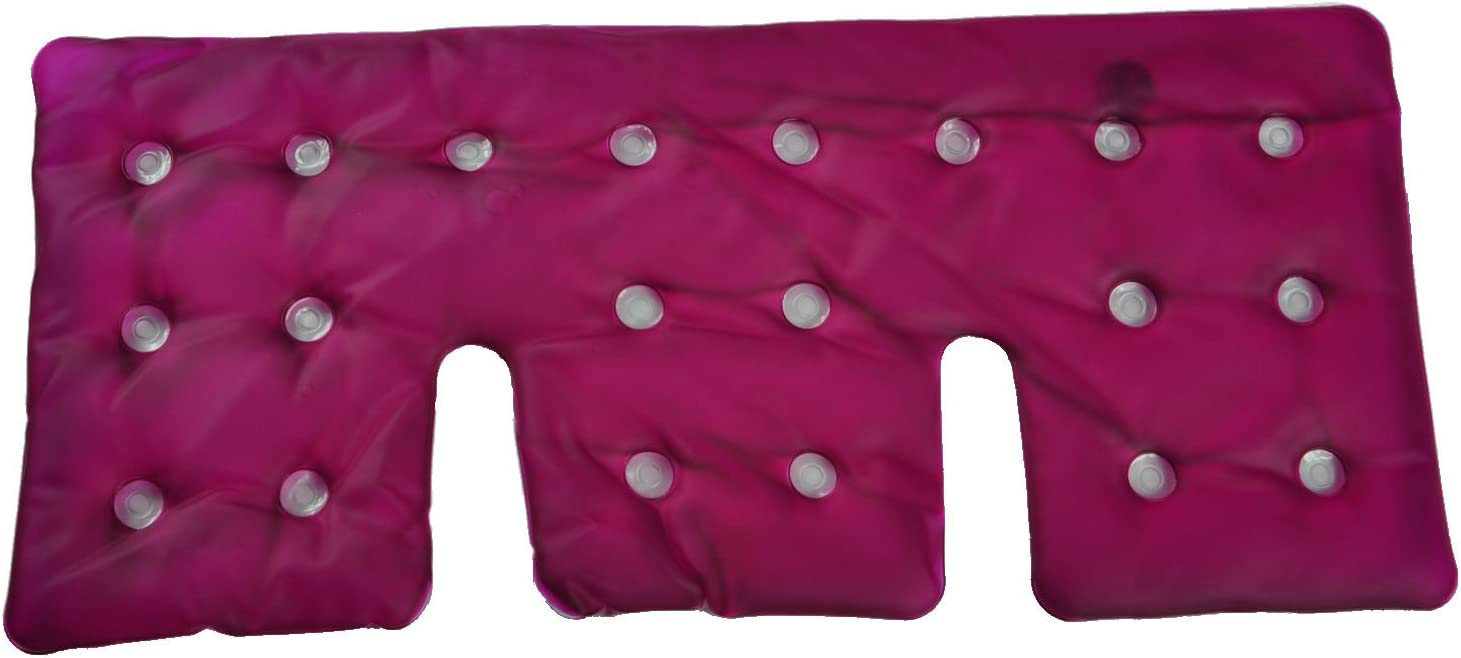 Click It Hot/Cold Reusable Gel Heating Pad (Relax (Neck/Shoulder), Pink)