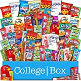 CollegeBox – Bulk Snacks Care Package (60 Count) for College...
