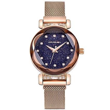 362f3583612d 2019 Nueva Tendencia Moda Reloj Impermeable con imán Net Red Star Reloj  Mujer