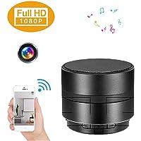 Hidden Spy Camera Bluetooth Speaker Wireless Digital Camera 3D Surround Player Recorder 1080P WiFi HD No Hole Night Vision Loop Video