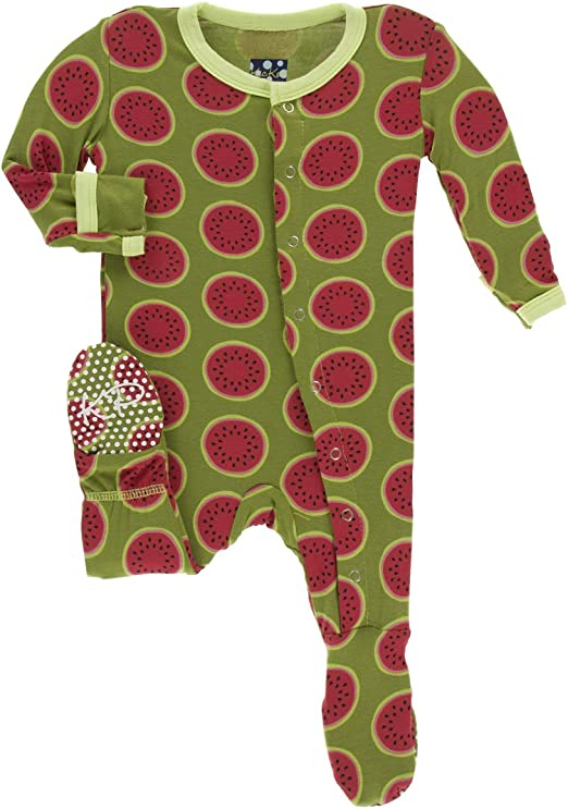 KicKee Pants Print Coverall with Zipper 18-24 Months, Neptune Chemistry Lab