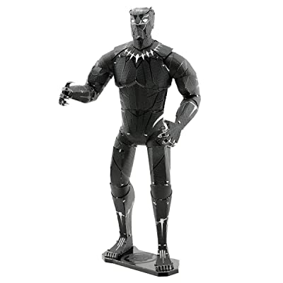 Fascinations Metal Earth Marvel Black Panther 3D Metal Model Kit: Toys & Games