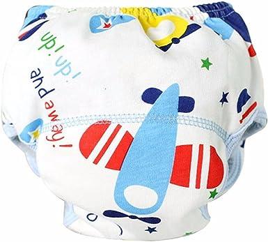 Tefamore Pañales bebé de Tela Reutilizables Pantalones de ...
