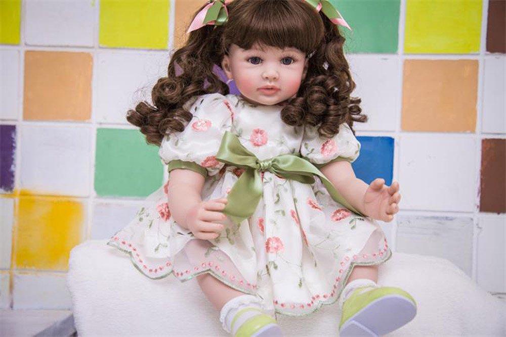 ventas en linea Pursue Baby 60cm 60cm 60cm Muñeca Niña Bebe Realista Lifelike Silicone Vinile Reborn Baby  centro comercial de moda