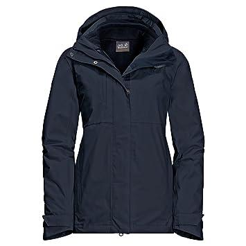 jack wolfskin damen 3in1 coat