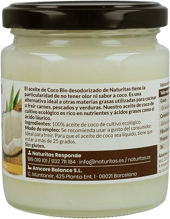 Aceite de Coco Bio (Desodorizado, 200 ml): Amazon.es ...