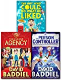 img - for David Baddiel Collection 3 Books Bundle (The Boy Who Could Do What He Liked,The Parent Agency,The Person Controller) book / textbook / text book