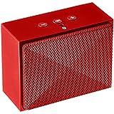 AmazonBasics Mini Bluetooth Speaker - Red