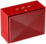AmazonBasics Mini Bluetooth Speaker - Red