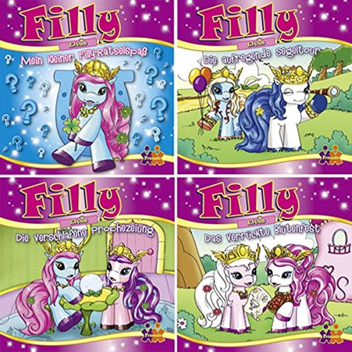 Mini-Bücher Filly Elves 13-16 (4er-Set)