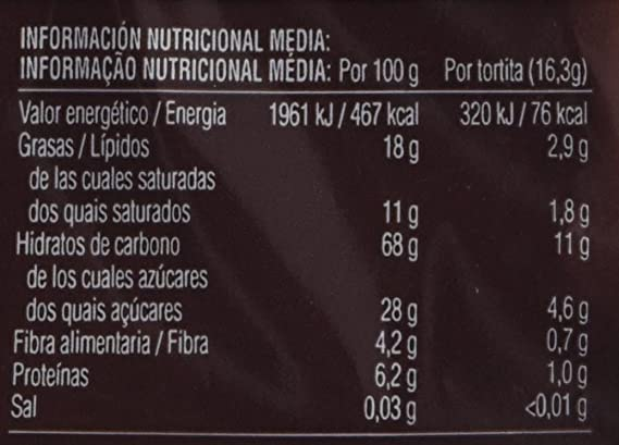 Bicentury Tortitas Nackis Arroz Integral Con Chocolate Negro - Pack de 4 x 32.6 g - Total: 130 gr: Amazon.es: Amazon Pantry